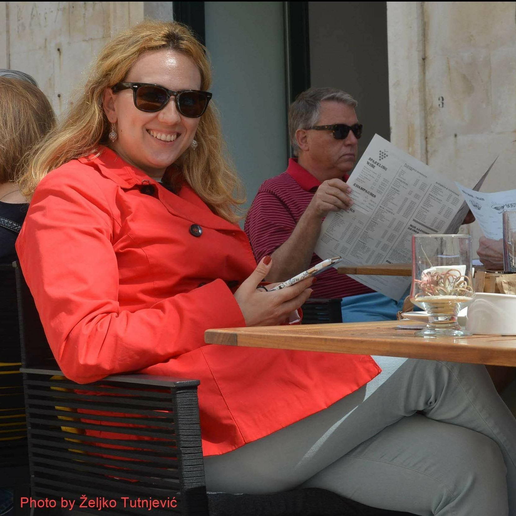Tour guide Katica Tepavac (Dubrovnik, Croatia)