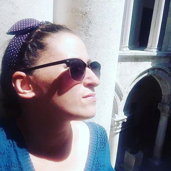 Sandra Filipcic   is a tour guide for Split (Croatia)