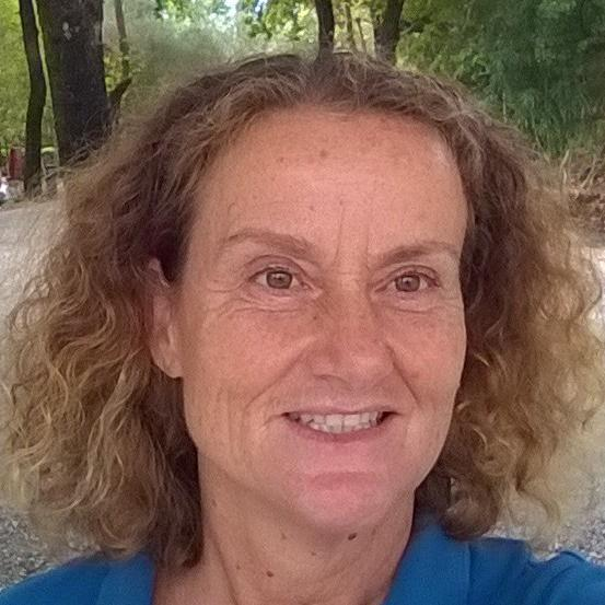 Maria Loukaridou  is a local tour guide for Ancient Olympia (Greece)