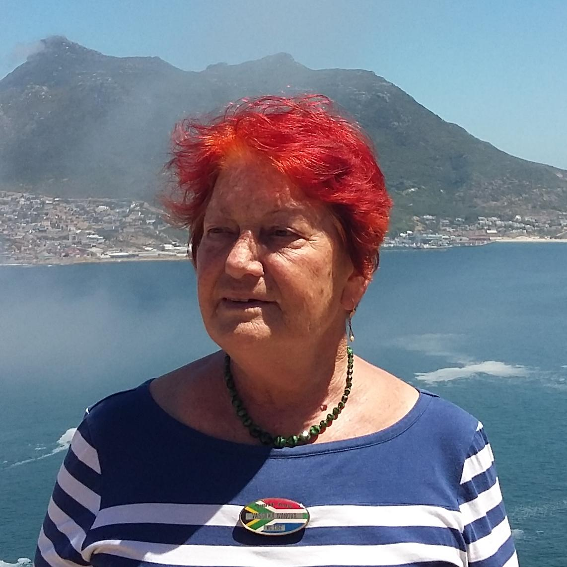 Vaska Ivanova is a local tour guide for Cape Town (South Africa)