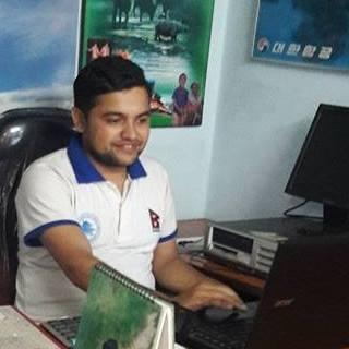Padam Timsina is a local tour guide for Kathmandu (Nepal)
