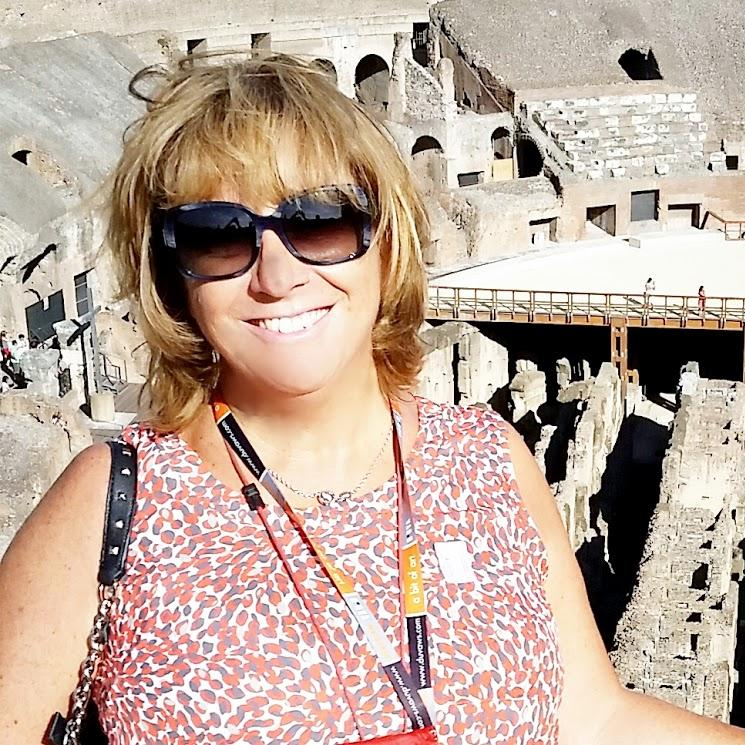 Letizia Bruschi  is a local tour guide for Rome (Italy)