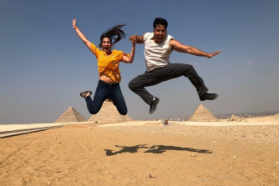 full day tour Giza pyramids Sphinx Memphis & Sakkara