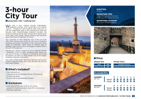 3-hour City Tour (panoramic ride + walking tour)