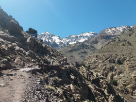 Excursion and trek to Imlil valley 1 day from Marrakech.